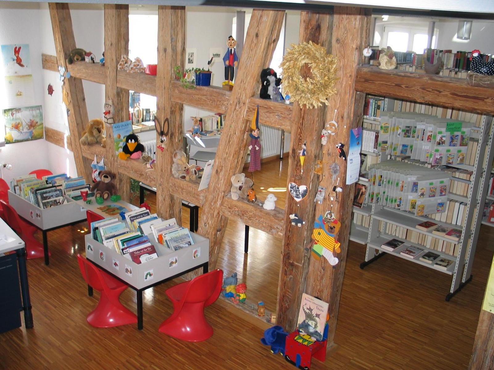 Bücherei bilder  Bücherei: Gemeinde Fichtenau